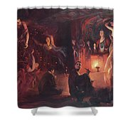 Dunhuang Flying Sky Shower Curtain