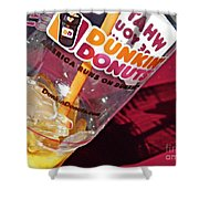 Dunkin Ice Coffee 29 Shower Curtain