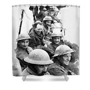 Dunkirk By John Springfield Shower Curtain