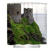 Dunluce Castle II Shower Curtain