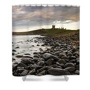 Dunstanburgh Castle Uk Shower Curtain