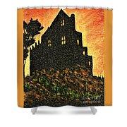 Duntrune Castle Argyll Scotland Shower Curtain