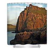 Duntulm Castle Shower Curtain