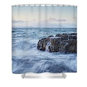 Dunure Beach Shower Curtain