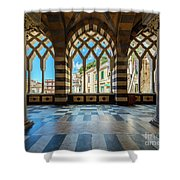 Duomo Di Amalfi Shower Curtain
