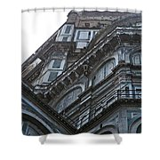 Duomo In Florence Shower Curtain