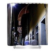 Duomo In The Dark Shower Curtain