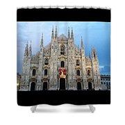 Duomo - Milan -italy Shower Curtain