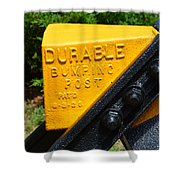 Durable Bumping Post Shower Curtain