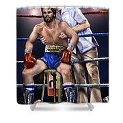 Duran Hands Of Stone 1a Shower Curtain