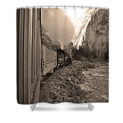 Durango Silverton Shower Curtain