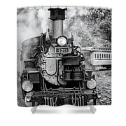 Durango Silverton Train Engine Shower Curtain
