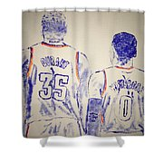 Durant And Westbrook Shower Curtain