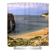 Durdle Door Shower Curtain