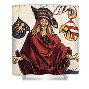 Durers Syphilitic Man Shower Curtain