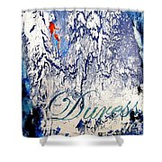 Duress Shower Curtain