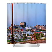 Dusk At Federal Hill Shower Curtain