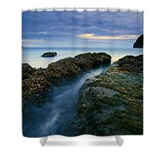 Dusk At Kiwanda  Shower Curtain