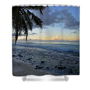 Dusk Beach Shower Curtain