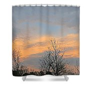 Dusk From The Deck Shower Curtain