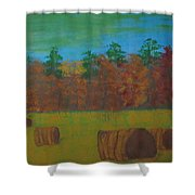 Dusk In The County Shower Curtain
