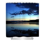 Dusk In December Shower Curtain