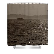 Dusk In Peninsula Shower Curtain