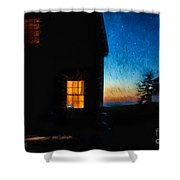 Dusk, Monhegan Island, Maine Shower Curtain