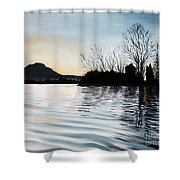 Dusk On Diablo Shower Curtain