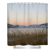 Dusk On Grundarfjordur Shower Curtain