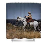 Dusk Ride Shower Curtain