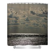 Dusk Sets In Shower Curtain