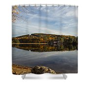 Dust In Fall Shower Curtain