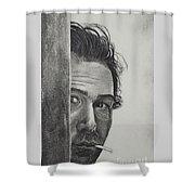 Dustin Hoffman Shower Curtain