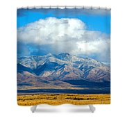 Dusting Of Snow, Dos Cabezas Shower Curtain