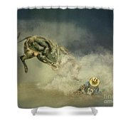Dusty Britches Shower Curtain