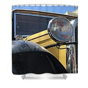 Dusty Old Ford Shower Curtain