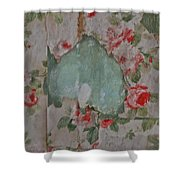 Dusty Roses Shower Curtain