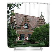 Dutch Building - Henlopen Shower Curtain
