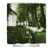 Dutch Canal - Digital Shower Curtain
