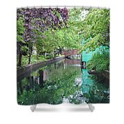 Dutch Canal Shower Curtain