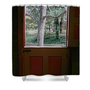 Dutch Door Shower Curtain