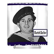 Dutch Sailor This Man Is Your Friend Shower Curtain