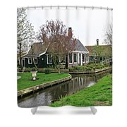 Dutch Village 2 Shower Curtain