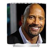 Dwayne Johnson Shower Curtain