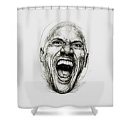 Dwayne The Rock Johnson Shower Curtain
