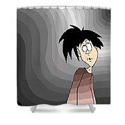 Where Am I? Shower Curtain