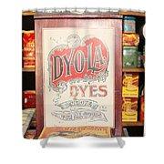 Dy-o-la Dyes Shower Curtain