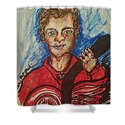 Dylan Larkin Shower Curtain