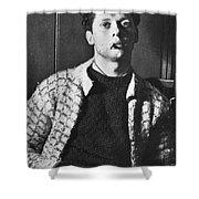 Dylan Thomas (1914-1953) Shower Curtain